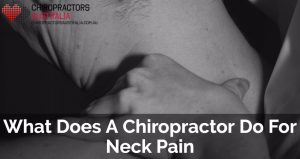 chiropractor for neck pain