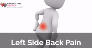 left side back pain