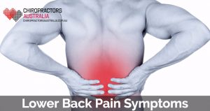 symptoms for back pain