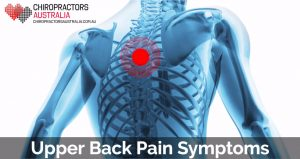 upper back pain symptoms