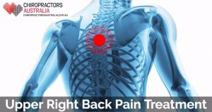 best treatment for upper right back pain
