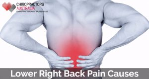 lower right back pain causes