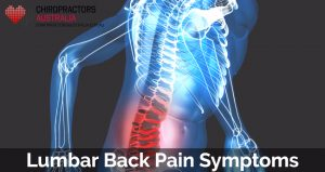 Lumbar Back Pain Symptoms