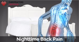 Nighttime back pain