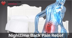 Nighttime back pain relief