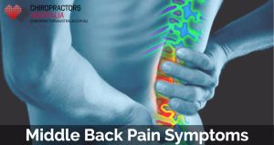 Middle Back Pain Symptoms